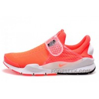 Nike X Fragment Design Sock Dart SP Orange Red 2017 New