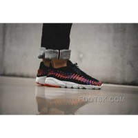 NikeLab Air Footscape Woven Rainbow Black Men Sneaker Cheap To Buy