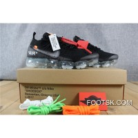 Vapormax X OFF-WHITE Black Free Shipping