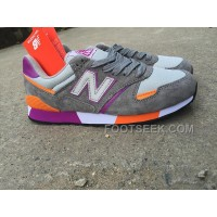 Online New Balance 446 Men Grey Purple