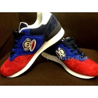 Online New Balance 670 Women Blue Red