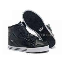 Online New Supra Vaider All Black Men's Shoes