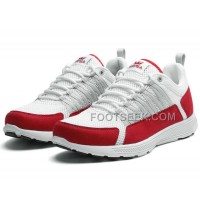 Online Supra Owen White Red Men's Shoes