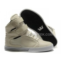 Online Supra TK Society Beige Women's Shoes