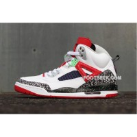 Jordan Spizike Poison Green White University Red Cool Grey Cheap Sale Hot