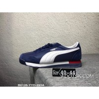 Discount Puma Whirlwind Neutral Retro Classic Casual Shoes Blue And White