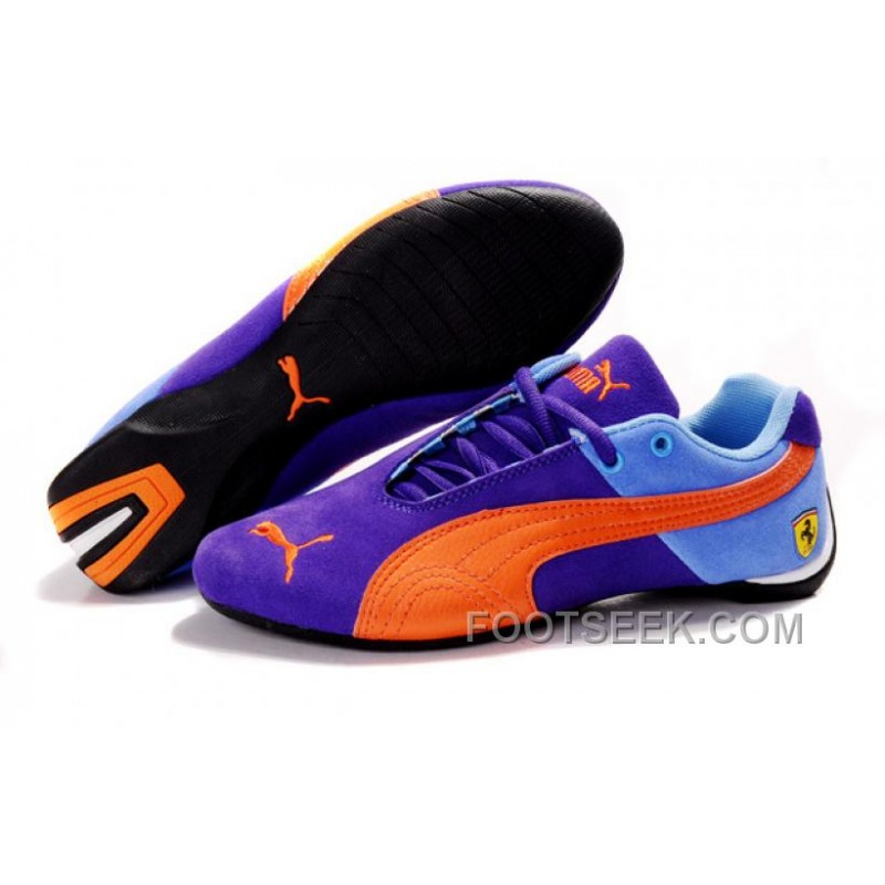 puma ferrari edition shoes purplesky blueorange price