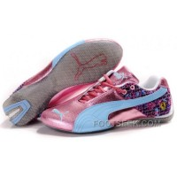 Women's Puma Ferrari In Pink/Blue/Gray