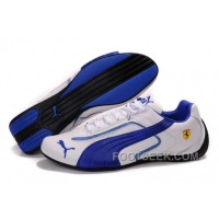 Men's Puma Ferrari In White/Blue/Black 277596