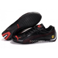 Mens Puma Future Cat GT Ferrari Black Red