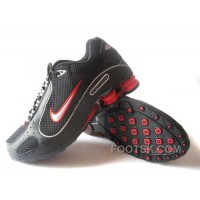 Men's Nike Shox Monster Shoes Black/Red Lastest