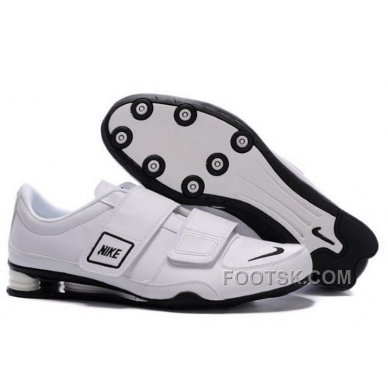 usine authentique 3be58 c5b73 Men's Nike Shox R3 Shoes White/Black Lastest