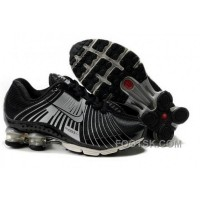 Kid's Nike Shox R4 Shoes Black/Cool Grey Free Shipping