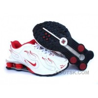Kid's Nike Shox Torch Shoes White/Red/Grey Online
