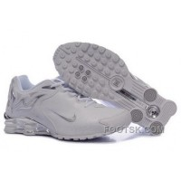 Women's Nike Shox Torch Shoes White/Brilliant Silver Authentic