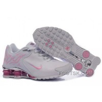 Women's Nike Shox Torch Shoes White/Light Pink/Brilliant Silver Top Deals