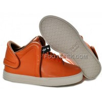 Supra Falcon Orange Brown Men's Shoes Discount