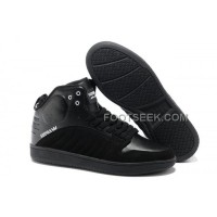 Supra S1W All Black Men's Shoes Discount