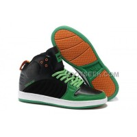Supra S1W Black Green Orange Men's Shoes Discount