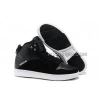 Supra S1W Black White Men's Shoes Discount