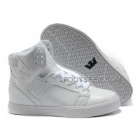 Supra Skytop Off White Women's Shoes New