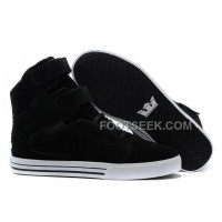 Supra TK Society Suede Black White Shoes Online