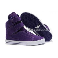 Supra TK Society Suede Purple White Shoes Online