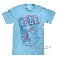 ICEE Polar Bear Faded Logo | Soft Touch Tee-medium: Clothing Discount