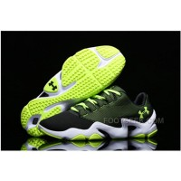 Under Armour Running Shoes Green White