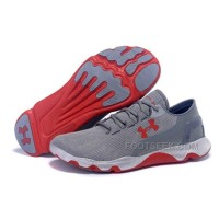 Under Armour Speedform Apollo Running Gray Red