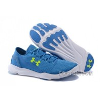 Under Armour UA SpeedForm Apollo Vent Running Shoe Blue White Sneaker Lastest GmMFx