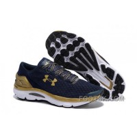 Lastest Under Armour UA SpeedForm Gemini Team Blue Gold Sneaker XzrDh