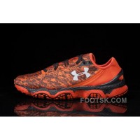 Good UA SpeedForm XC Orange Black Mens Running Shoes Christmas Deals CPnjRBB