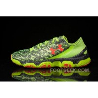 Under Armour SpeedForm XC Mens Black Green Online