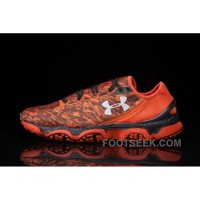 Under Armour Speedm XC Mens Orange Red Black For Sale