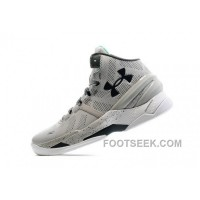 UA Curry Two Gray Storm (052) / White