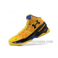 UA Curry Two Yellow Blue