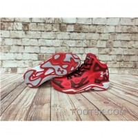 Under Armour Anatomix Spawn 2 Red Black Sneaker Authentic I8HypfW
