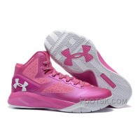 Under Armour ClutchFit Drive 2 Men Basketball Shoes Pink White Online J557JPz