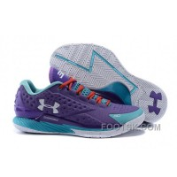 Under Armour Curry 1 Low Purple Blue Red Sneaker Lastest SpYPy63
