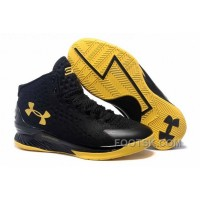 Under Armour Curry One Black Championship Sneaker For Sale WN2MB