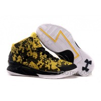 Under Armour Curry One Custom Army Yellow Sneaker Cheap To Buy 8by8c