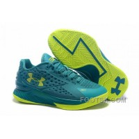 Cheap To Buy Under Armour Curry One Low Kids Shoes Green Yellow Sneaker 8Qziki6