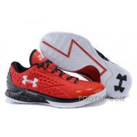 For Sale Under Armour Curry One Low Team Red Black White Sneaker SEFSQCm
