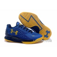 Cheap To Buy Under Armour Curry One Low Women Blue Yellow Sneaker 6ZacQ