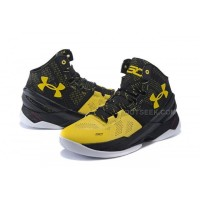 "UA Curry 2 ""Long Shot"" Under Armour Stephen Curry 2 Black Yellow"