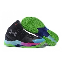 Super Deals Under Armour Curry Two Custom Black Moon Colorful Sneaker Bec2k