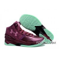 'BHM' Under Armour Curry 2 Dark Maroon/Antifreeze/Mojo Pink New Style 7w4A5D