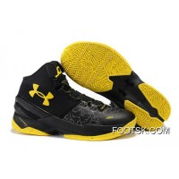 Cheap Under Armour Curry 2 Black Knight – Black/Yellow New Style W5PxZ