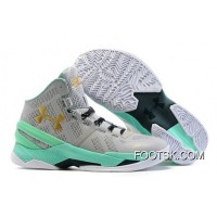'Easter' Under Armour Curry 2 Aluminum/Anti Freeze-Metallic Gold New Style XHW3yG